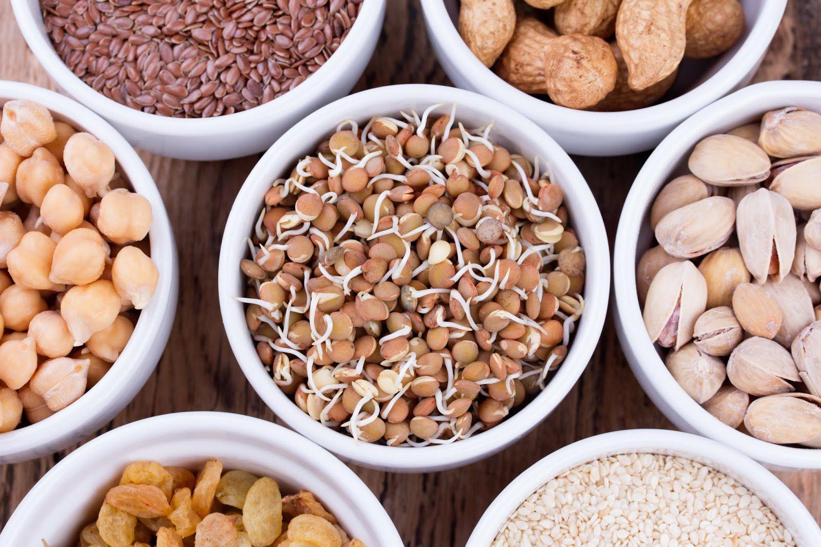 fibres alimentaires noix noisettes