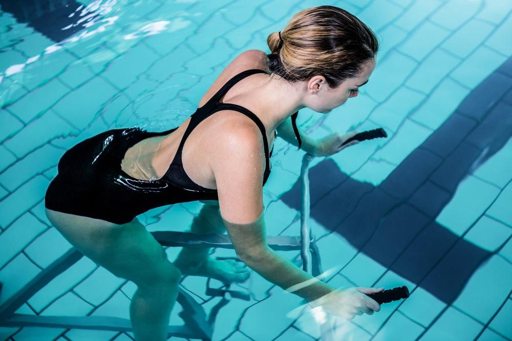 aquabike pour perdre la cellulite