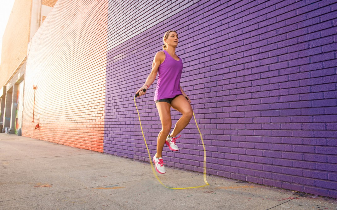 corde a sauter sport anticellulite
