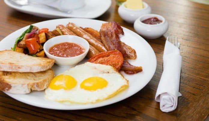 petit-déjeuner musculation