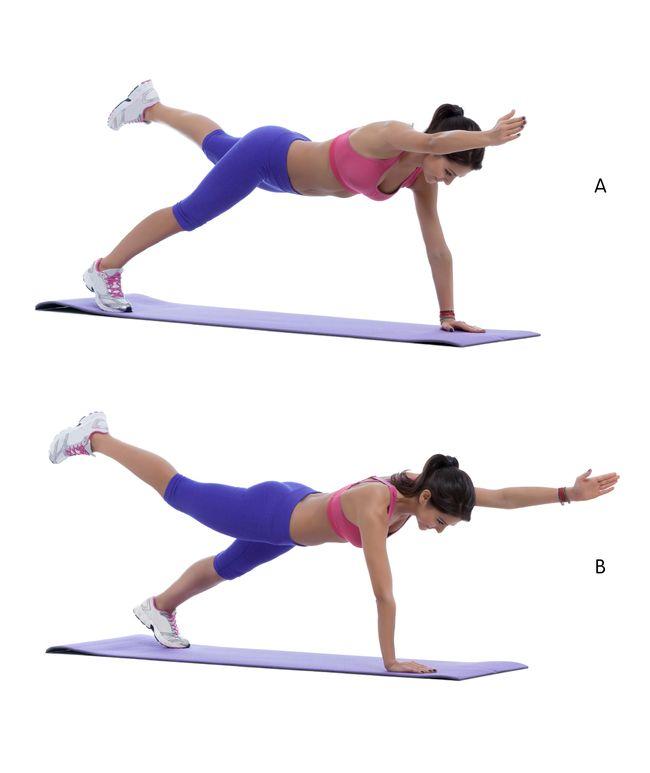 Gainage planche dynamique