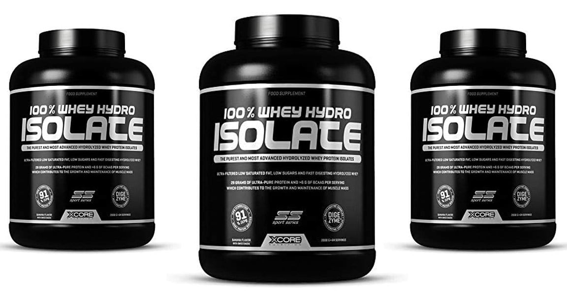 100% Whey hydro isolate SS de Xcore