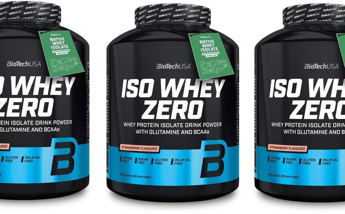 Iso Whey Zero de Biotech USA
