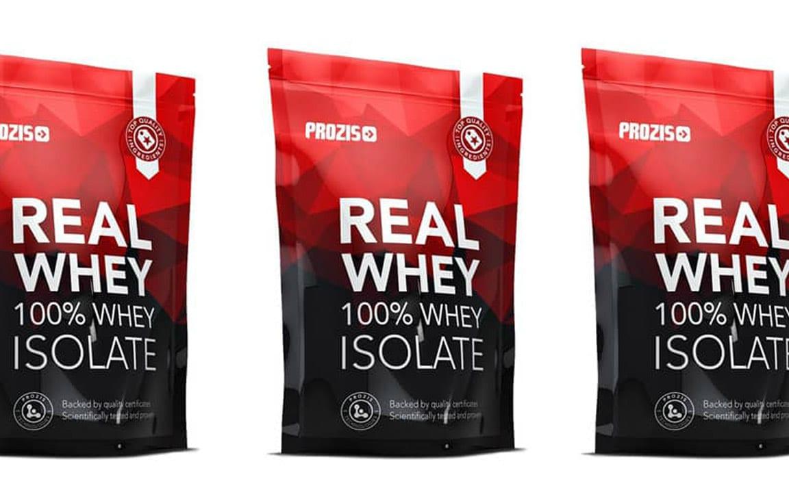 Real Whey 100% isolat de Prozis