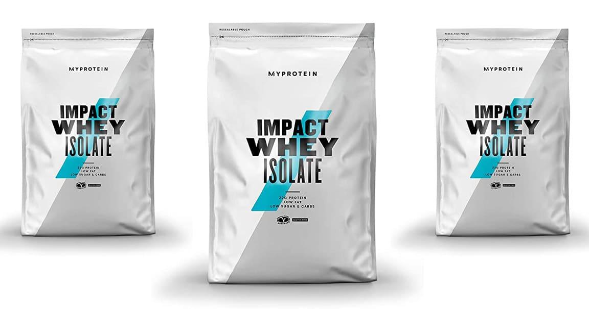 impact Whey Isolate de MyProtein