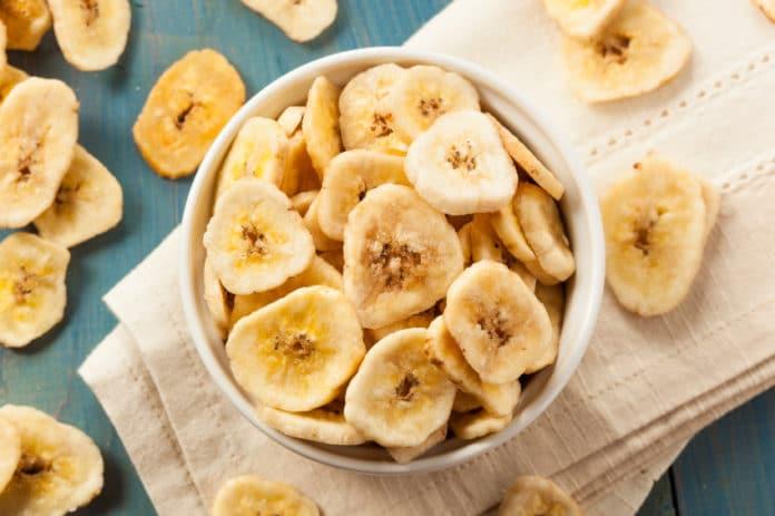 Banane séchée pour maigrir