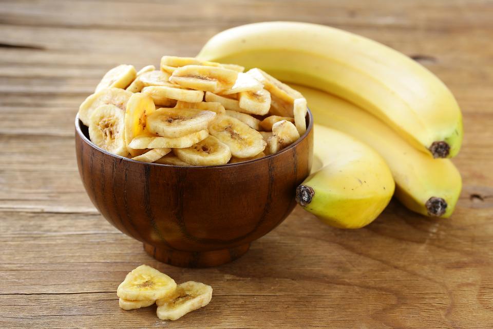 banane séchée