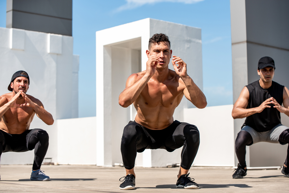 musculation exercices poids du corps