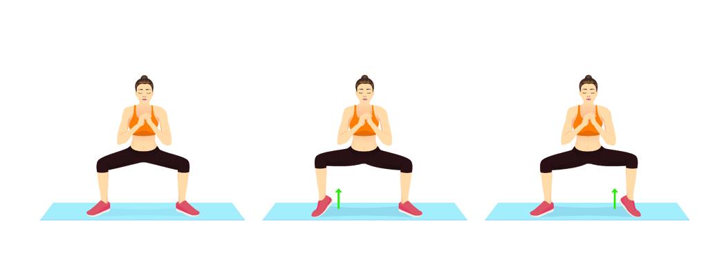 squat sumo exercices