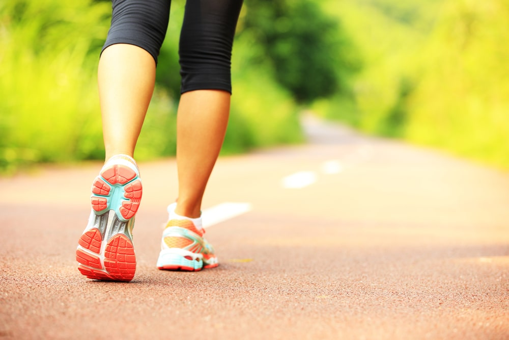 Marcher pour maigrir bienfaits